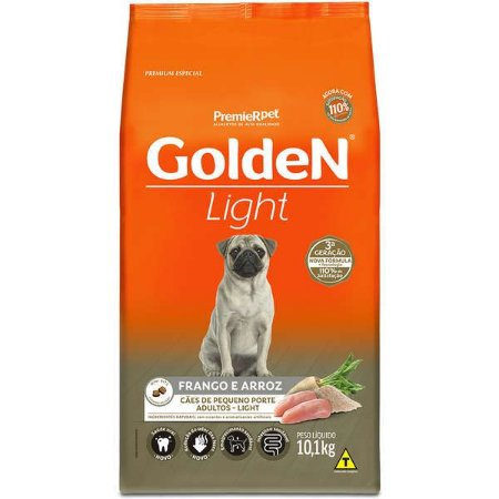 Golden Formula Cães Adulto Light Mini Bits 10Kg