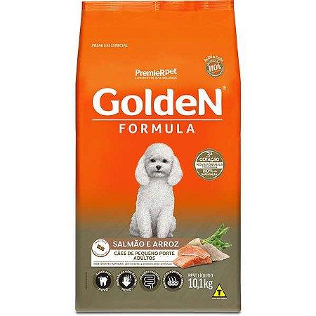 Golden Formula Cães Adulto Salmão Mini Bits 10Kg