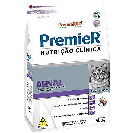 Premier Nutrição Clínica para Gatos Renal 500 g