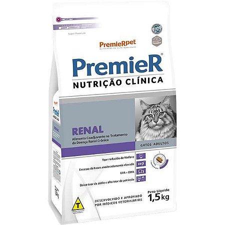 Premier Nutrição Clínica para Gatos Renal 1,5 Kg