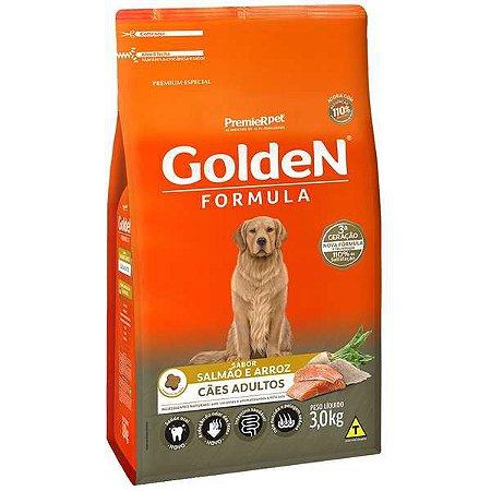 Golden Formula Cães Adulto Salmão 3Kg