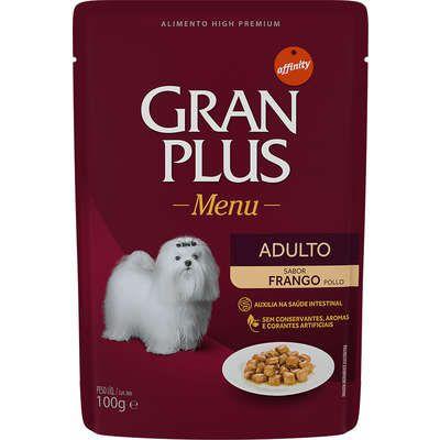 GRAN PLUS SACHE CÃO FRANGO 85G