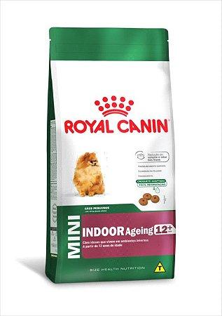 Royal Canin Mini Indoor 12+ Cães Adultos 1KG