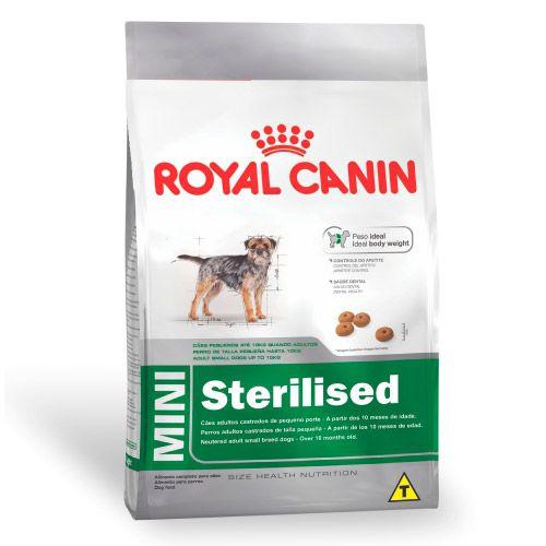 Royal Canin Mini Sterilised Cães Adultos 2,5KG