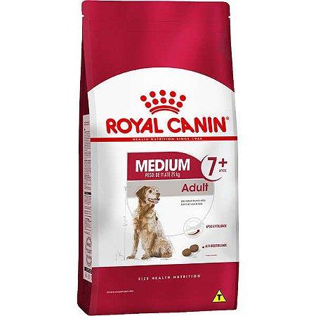 Royal Canin Medium Adult 7+ para Cães Adultos de Raças Médias com 7 Anos ou mais 15KG