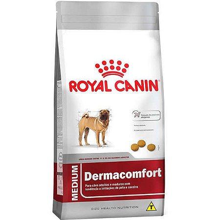 Royal Canin Medium Dermacomfort para Cães Adultos ou Idosos de Raças Médias 2,5KG