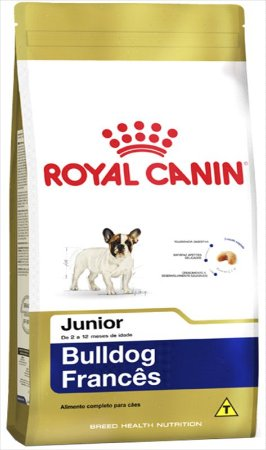Royal Canin para Cães Filhotes da Raça Bulldog Francês 1KG
