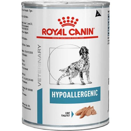 Royal Canin Cães Hypoallergenic Wet Lata 400Gr