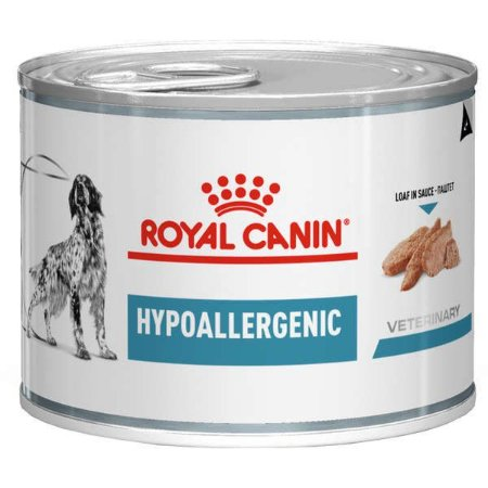 Royal Canin Cães Hypoallergenic Wet Lata 200GR
