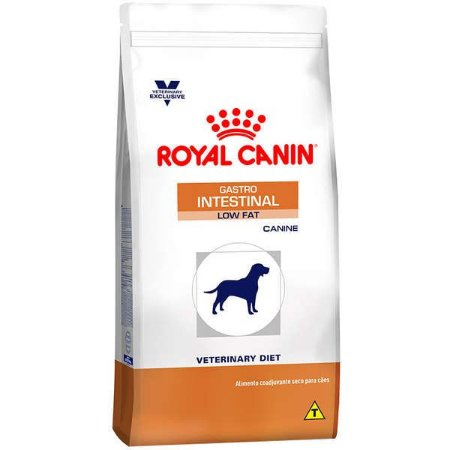 Royal Canin Canine Veterinary Diet Gastro Intestinal Low Fat para Cães Adultos 1,5KG