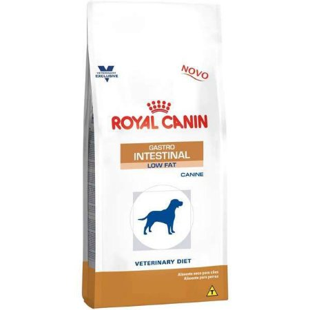 Royal Canin Canine Veterinary Diet Gastro Intestinal Low Fat para Cães Adultos 10,1KG