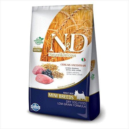 N&D Low Grain Cordeiro Cães Adultos Raças Pequenas 800G