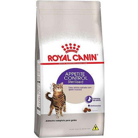 Royal Canin Gatos FHN Sterilised Appetite Control 400Gr
