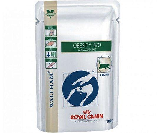Sachê Royal Canin Gatos Diet VDF Obesity S/O 100Gr