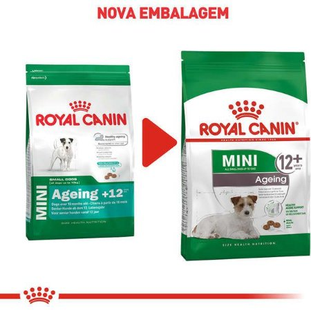 Royal Canin Cães Mini Indoor Ageing 12+ 2,5Kg