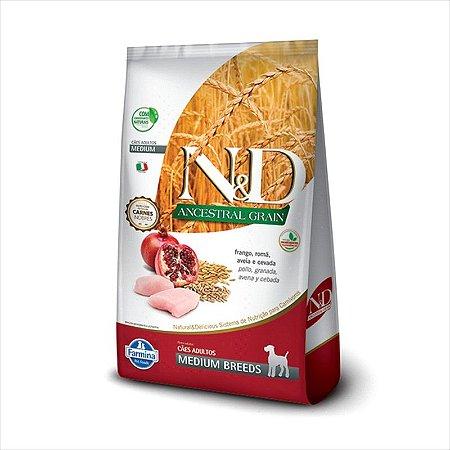 N&D Ancestral Caes Frango Adulto Medium 2,5KG