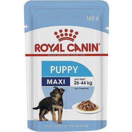 Sachê Royal Canin Cães Maxi Puppy Filhote 140Gr