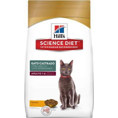 HILL'S GATOS CASTRADO ADULTO 1,5KG