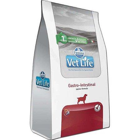 Vet Life Natural Gastro-Intestinal para Cães Adultos com Distúrbios Intestinais 2KG