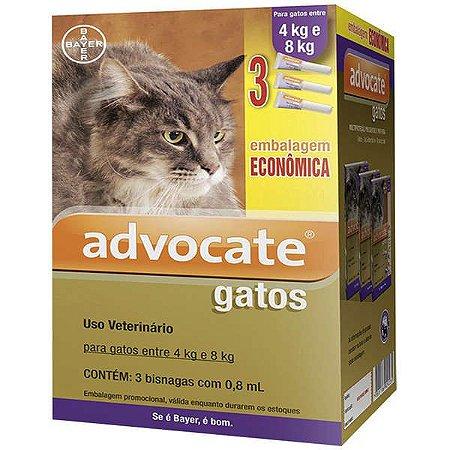 Advocate Cat COMBO (0,8) 4 A 8kg