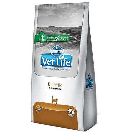 Vet Life Diabetic para Gatos Adultos Diabéticos 2KG