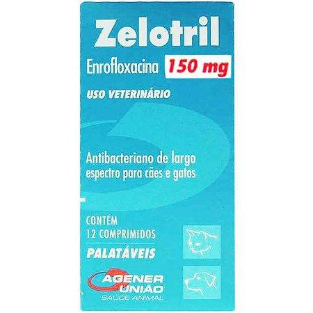 Antibacteriano Agener União Zelotril 12 comprimidos - 150MG