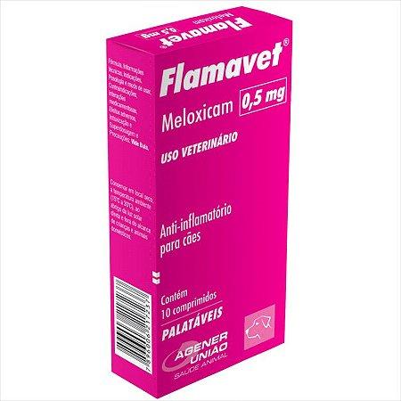 Flamavet Agener União para Cães 10 comprimidos - 0,5 MG