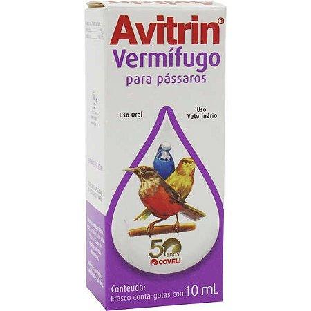 Avitrin Vermifugo Para Pássaro 10 ML