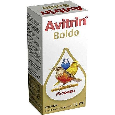 Avitrin Boldo Para Pássaros 15 ML