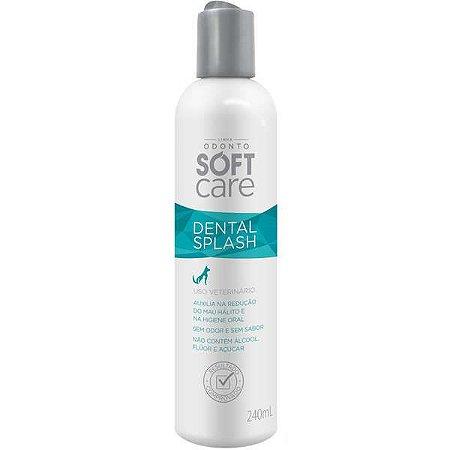 Solução Oral Pet Society Soft Care Dental Splash 240ML