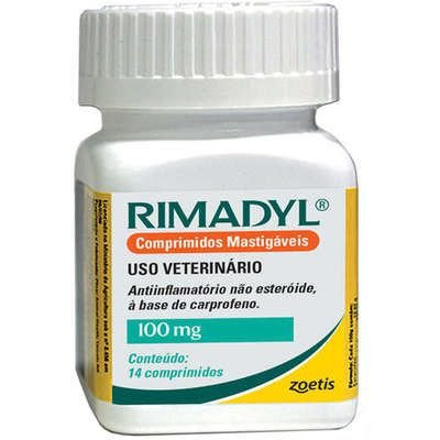 RIMADYL MASTIGAVEL 100MG - 14 COMPRIMIDOS