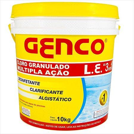 Cloro Granulado Genco 3 em 1 10KG