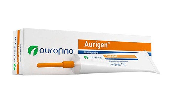 Pomada Ourofino Aurigen Tratamento Otológico 15G