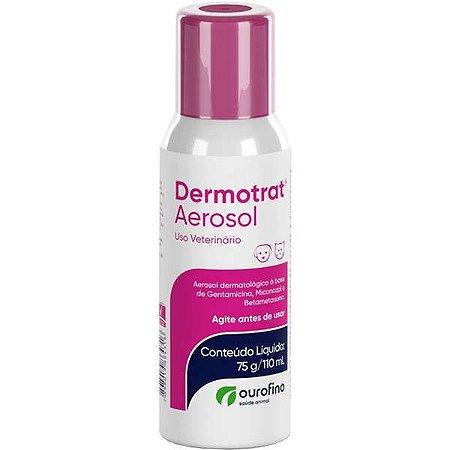 Anti-inflamatório Ourofino Dermotrat Aerosol 75G/110ML