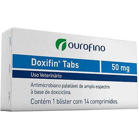 Antimicrobiano Ourofino Doxifin Tabs 14 Comprimidos 50MG