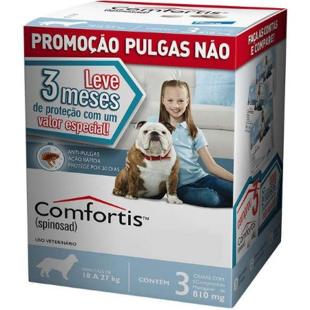 Comfortis 18 A 27 Kg - Combo