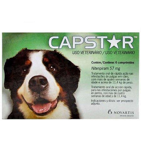 Capstar 57 Mg - 1 x 6 Comprimidos