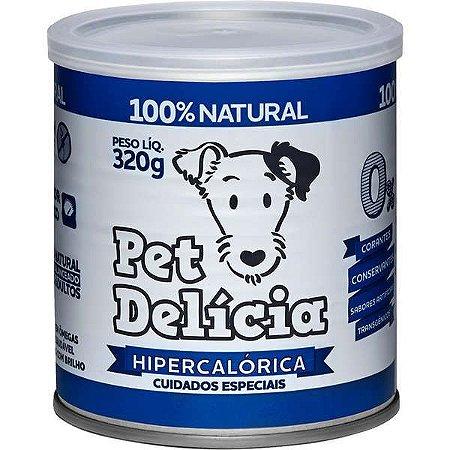 Pet Delícia Ração Úmida Cães Dieta Hipercalórica 320G