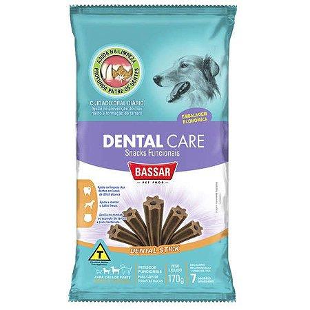 Dental Care Bassar Pet Food para Cães Raças Médias 170G