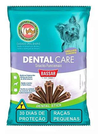 Snack Bassar Dental Care para Cães de Pequenas Raças 30 Unidades