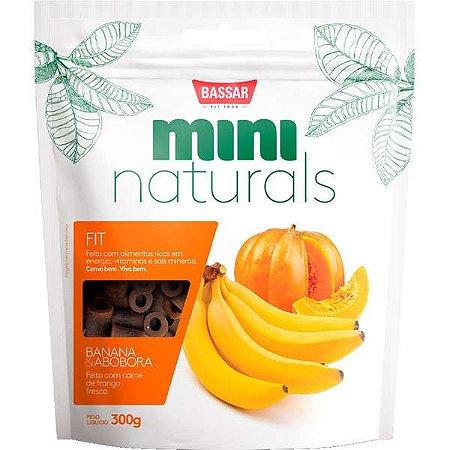 Snacks Bassar Mini Naturals Fit Banana & Abóbora 300G