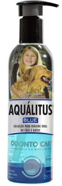 Higienizante Bucal Inovet Aqualitus 250ML