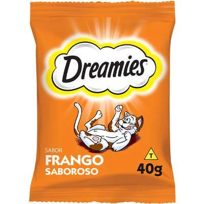 PETISCOS GATOS DREAMIES FRANGO 40G