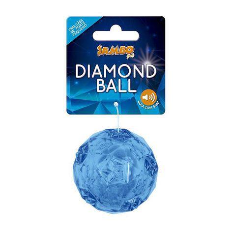 BOLA DIAMOND TPR PEQUENO AZUL