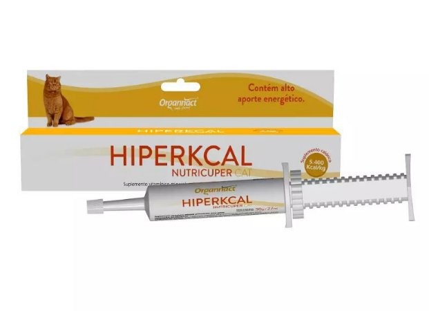 Suplemento Organnact Hiperkcal Nutricuper Cat 27 mL/30G