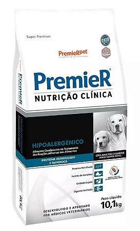 Premier Nutrição Clínica Hipoalergênico para Cães de Médio e Grande Porte 10,1KG