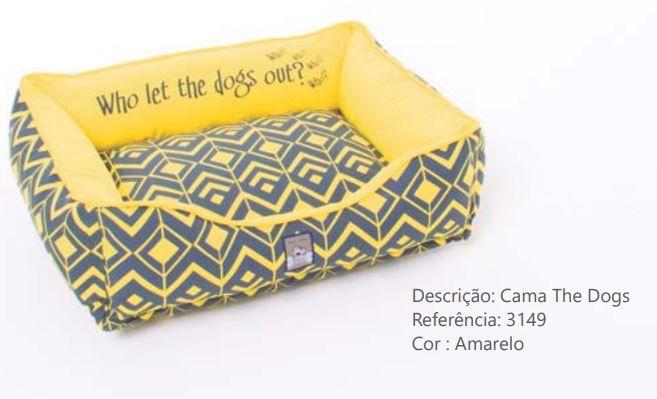 CAMA THE DOGS AMARELO P