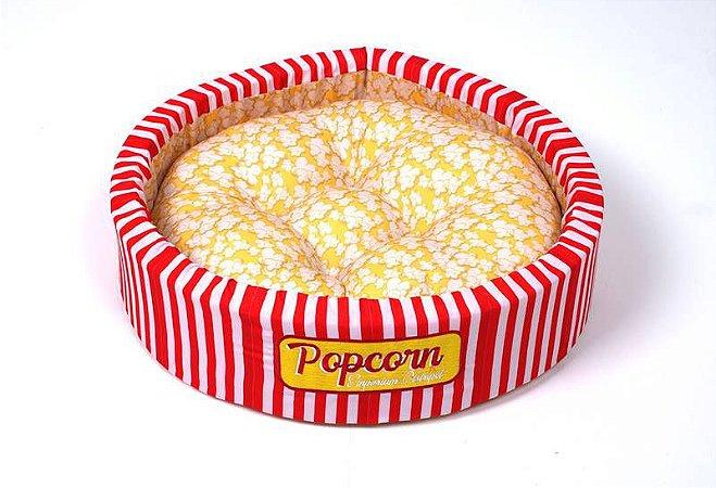 Cama Redonda para Cachorros   Gatos Popcorn