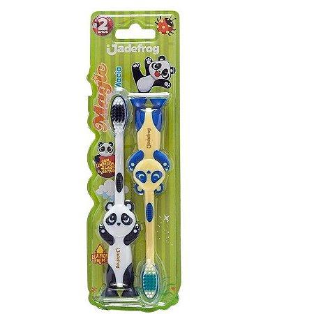 Escova Dental Magic Macia 2 unidades Jade Pro