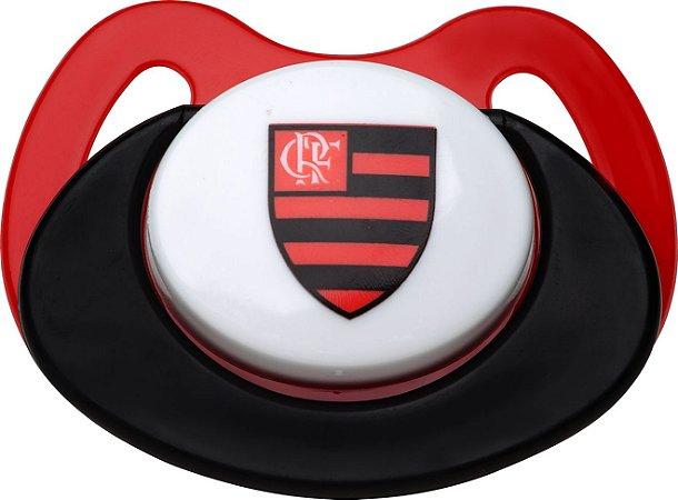 Chupeta Flamengo Silicone Ortodôntico Lolly